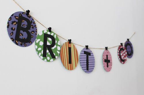 Banner from old CDs    10 Ways to Repurpose CDs & CD Cases - Brit & Co. - Living