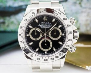 Copy Rolex 116520 Daytona Black Dial 25099