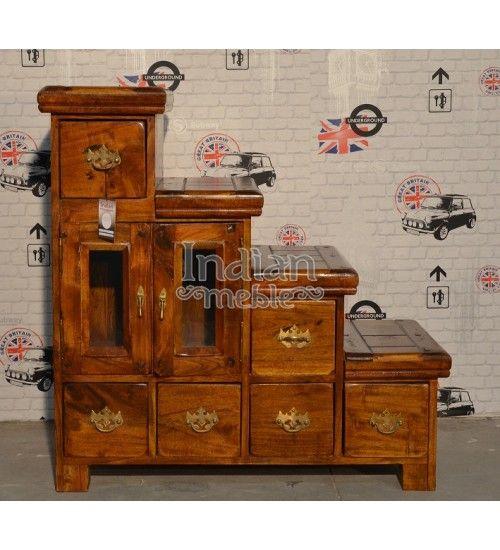 #Indyjska drewniana #komoda Model: AB-167 teraz tylko @ 1,087 zł. Zamów już dziś: http://goo.gl/SdtgkZ