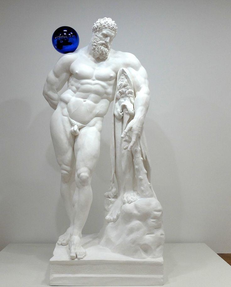 JEFF KOONS - GAZING BALL - HERCULE FARNÈSE