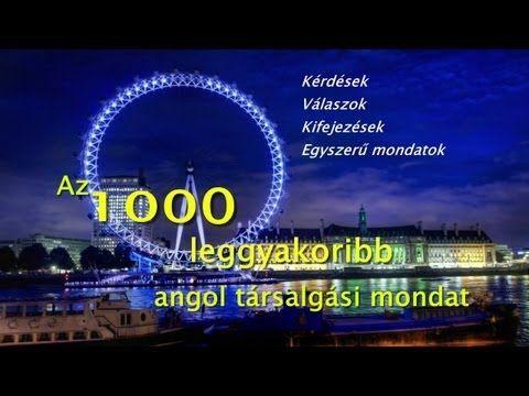 Angol társalgás top1000 - YouTube