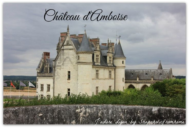 Château #d'Amboise #LoireVallee #Chateaux #France #Holidays #royalcastles #jadorelyon The best photos from my dreamt #French holidays in France