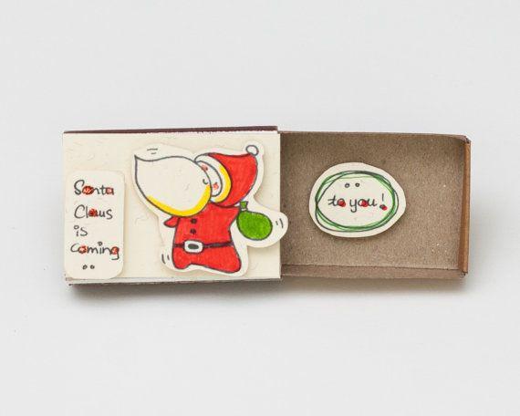 Cute Christmas Card/ Children Christmas Card/ Funny by shop3xu
