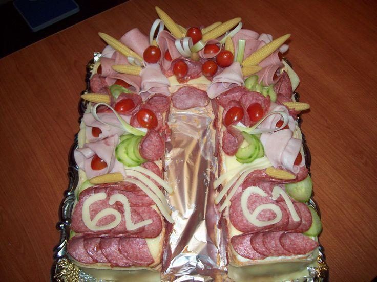 Slaný dort