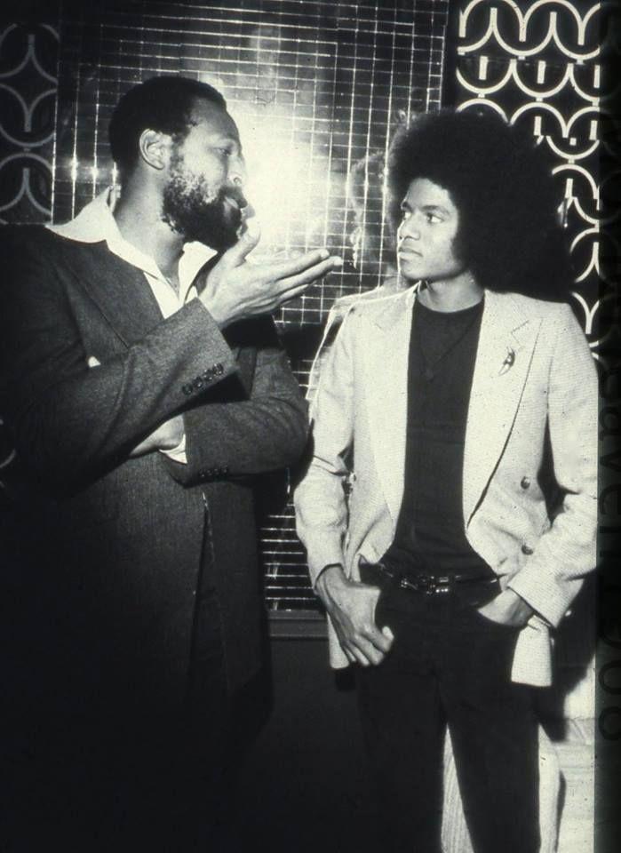 ka—tie: Michael Jackson & Marvin Gaye