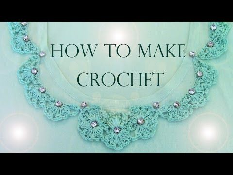 Como remodelar tu ropa con encajes a crochet How to make remodeling your clothes with lace crochet - YouTube