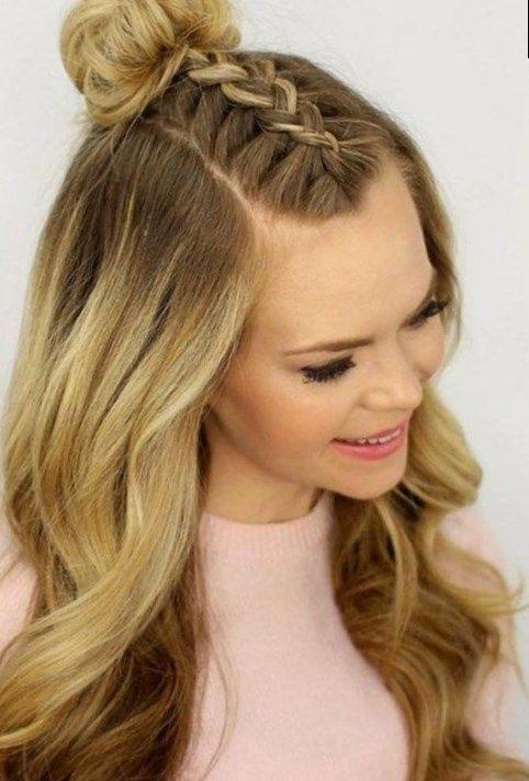 Trend Frisuren Frauen Geflochten