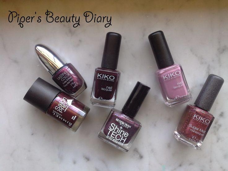 Tag - The Ultimate Autumn Challenge: I Miei Smalti Autunnali ~ Piper's Beauty Diary