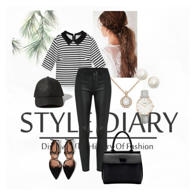 """""""Stripes"""" by eiram-schultz on Polyvore featuring Allurez, Zara, Kate Spade, Abercrombie & Fitch and CLUSE"""