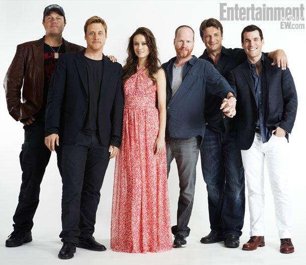 ADAM BALDWIN, ALAN TUDYK, SUMMER GLAU, JOSS WHEDON (director), NATHAN FILLION, SEAN MAHER, Firefly--10 years later