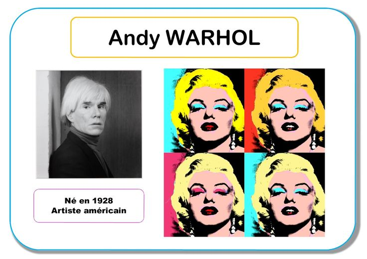 Andy Warhol - Portrait d'artiste