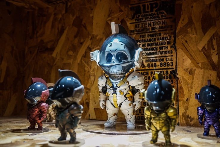 Kojima Productions' Logo Now Has Action Figures As Well