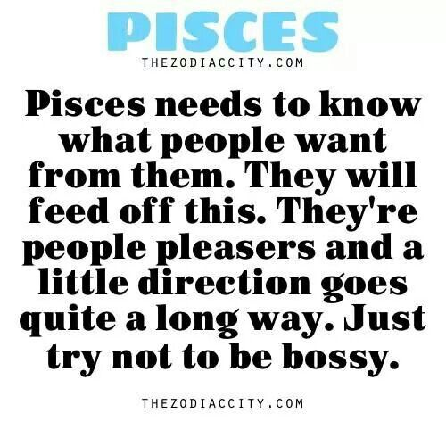 all about pisces Pisces is the quintessential romantic male or female, they are sweet and sentimental and exceptionally idealistic with his or her heightened intuition, your pisces lover is extremely sensitive to your needs and is eager to satisfy them since hisher happiness is dependent upon your own.
