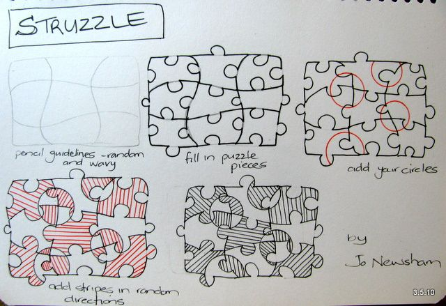 tangle patterns | Jo in NZ- Tangle Patterns - a gallery on Flickr