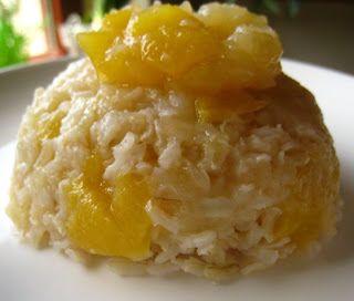 Szybkie gotowanie: Deser z brązowym ryżem i owocami