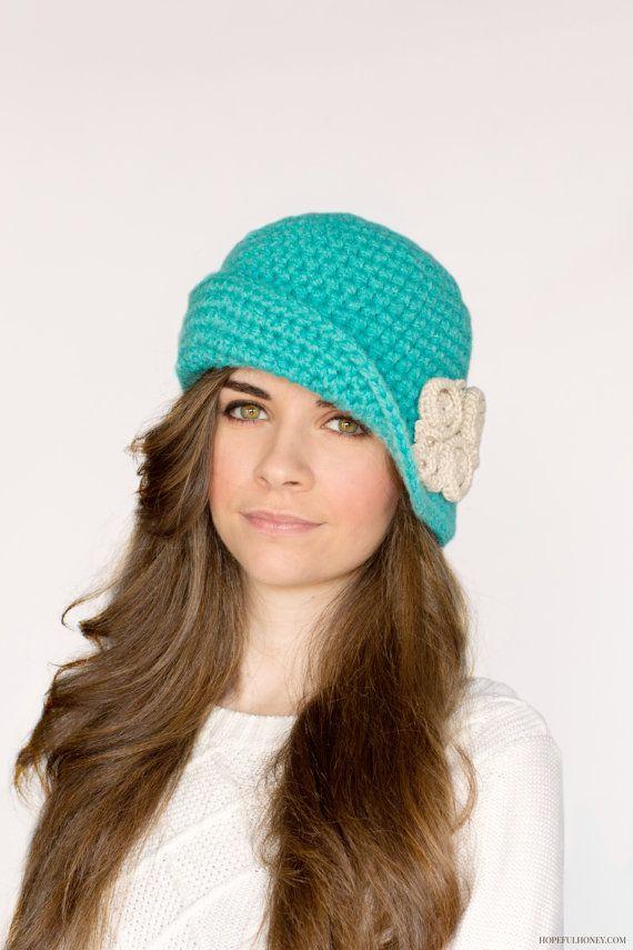 356 best Crochet Hats: Ladies images on Pinterest | Hat crochet ...