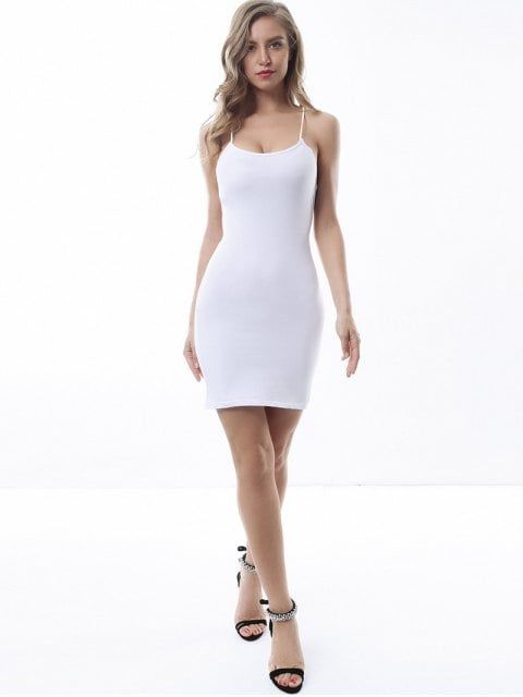 Criss Cross Backless Bodycon Dress White Backless Bodycon Dresses White Bodycon Dress Green Long Sleeve Dress