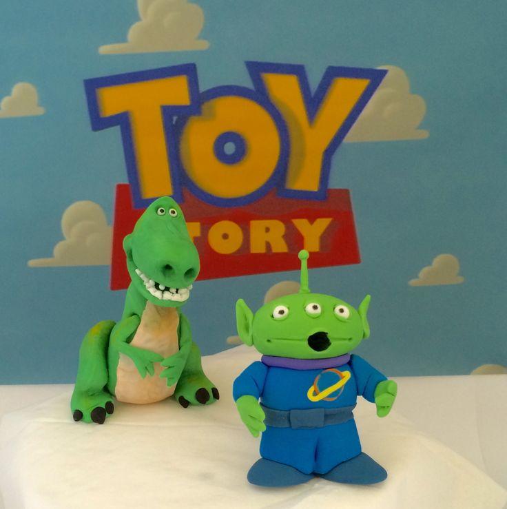 Toy Story Cake Toppers | Toy story cake toppers, Toy story ...