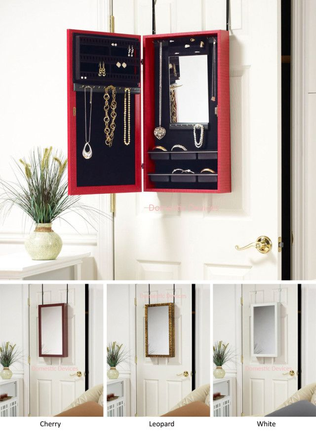 over the door jewelry storage 1