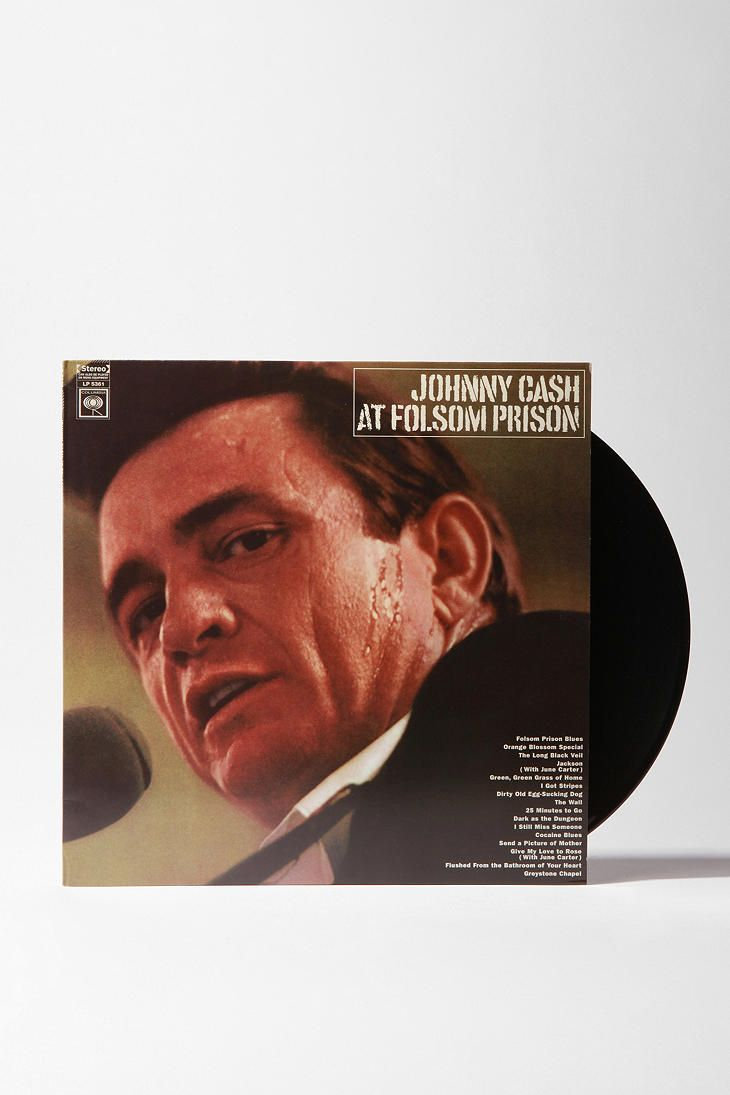 UrbanOutfitters Johnny Cash At Folsom Prison LP. $19.98
