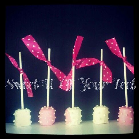 baby shower treats baby showers shower power marshmallows cake pops