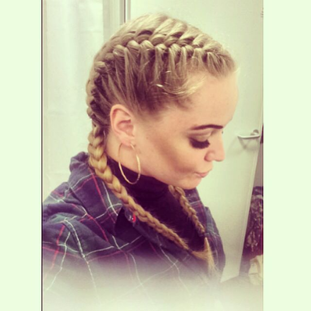 Two Braid French Plait Hairs Braids Hair Two Braids