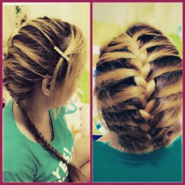 French Braid the easy one