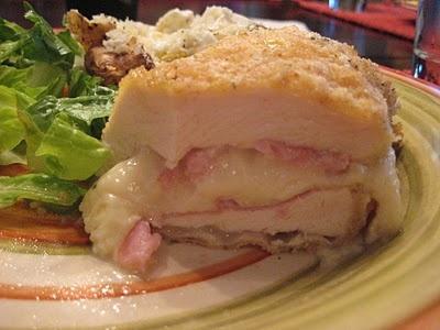 This is my favorite!  Chicken Cordon Bleau