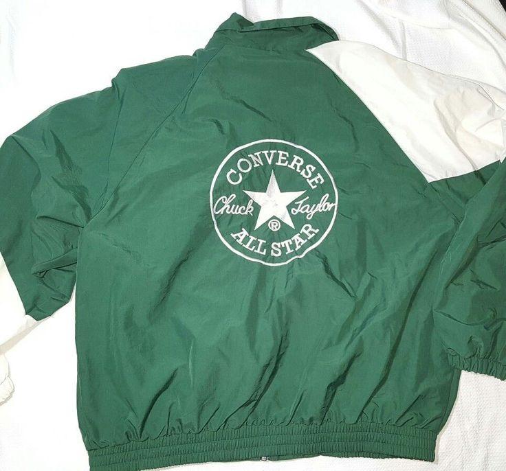Vintage Converse Big Logo Nylon Windbreaker Jacket Men's Size XXL - EUC #Converse #Windbreaker #ConverAllStar #ConverseChuckTaylor #ChuckTaylor #VintageFashion #Vintagestreetwear #Streetwear #Supreme #Bape #Sneakers #Chucks #VintageNike #VintageConverse