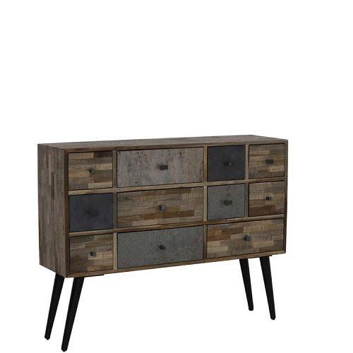 Deze ladenkast hout biedt jou veel opbergmogelijkheden in een prachtig design!