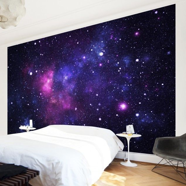 Non-woven Wallpaper - Galaxy - Mural Wide