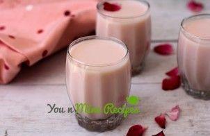 Gulkand Milkshake is cool and refreshing summer drink. Gulkand milkshake is also known as rose milkshake, Gul means flower in persian and Urdu and qand means sweet in Arabic