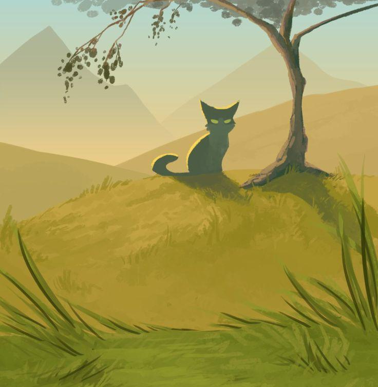 супругой красивые картинки коты воители с природой ставить забор