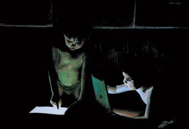Saatchi Online Artist Matthew Hickey; Painting, Screen Babies #art
