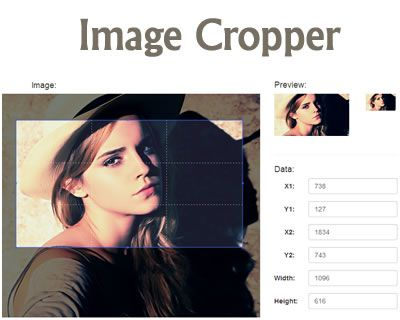Image Cropper – jQuery Image Cropping Plugin