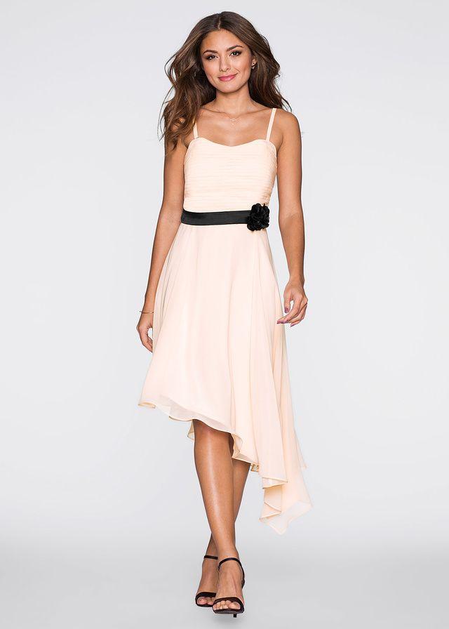Sukienka z kwiatem Śliczna sukienka w • 159.99 zł • bonprix