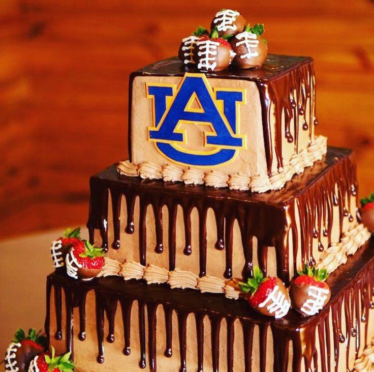Auburn Groom Cake