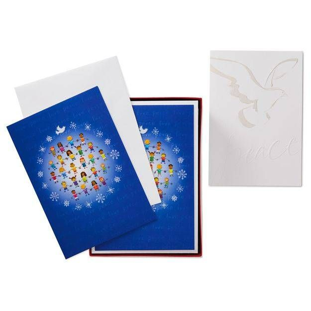 UNICEF Children/Dove Assorted Christmas Cards, Box of 30