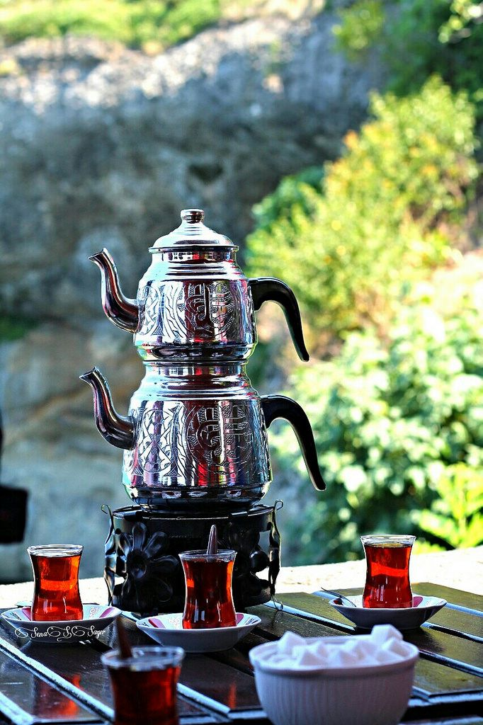 turkish tea (boztepe, trabzon, turkey)