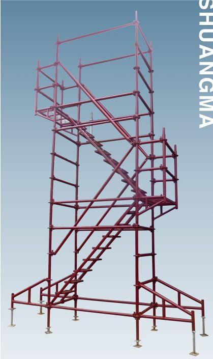 high quality construction material hot dip galvanized layher scaffolding system
