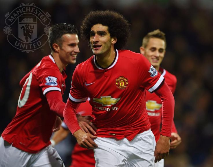 FellainiM smashes home to make it 1-1 at The Hawthorns. #mufc