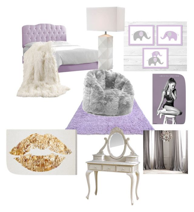 """Ariana Grande inspired room "" by natalienoel31 on Polyvore featuring interior, interiors, interior design, home, home decor, interior decorating, Skyline, Best Home Fashion and Comfort Research"