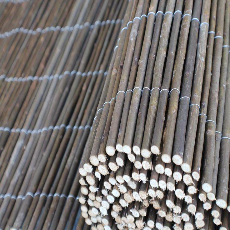 Weidenmatte Weidenzaun Sichtschutz Schilfrohrmatte Windschutz Bambusmatte Zaun in Garten & Terrasse, Gartenzäune & Sichtschutzwände, Sicht- & Lärmschutzwände | eBay