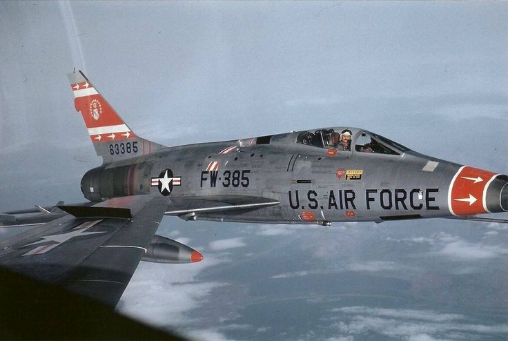 North American F-100 Super Sabre - Hun Fun