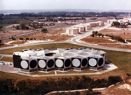 Victor Vasarely Foundation, Aix-en-Provence, France.  You've made it to the top when you get a museum this size...LOL