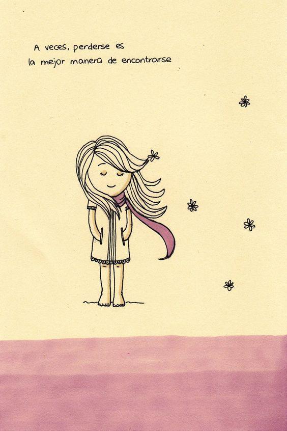 A veces perderse es la mejor manera de encontrarse