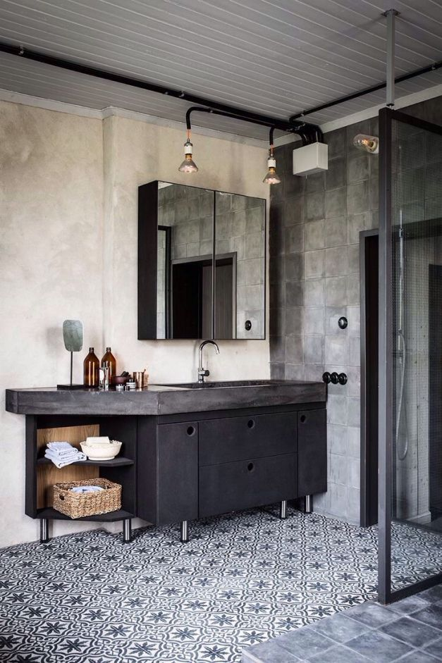 Bildergebnis Fur Bad Im Retro Look Bathroom In 2018 Pinterest
