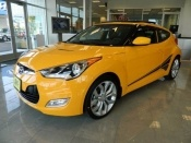 We have this happy-yellow veloster here on the lot now. Buy the car that's going to make you happy every time you look at it. Come in and take it home today! #hyundai #veloster #mpg
