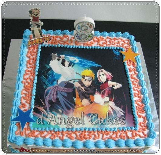 Naruto Birthday Cake Ideas