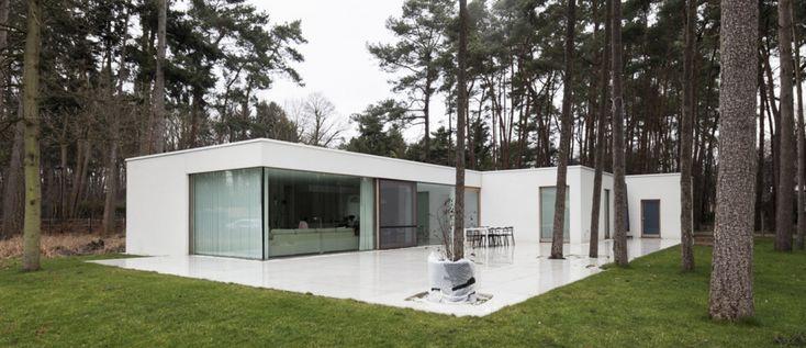 Woning T | Eengezinswoningen | projecten | a154 | Architectuur voor nieuwbouw en renovatie, Gent